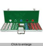 Wholesale Poker Sets Lucky Bee 500 Chip Set in Aluminum Case from china suppliers