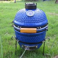Wholesale 13 inch Mini ceramic Blue egg BBQ from china suppliers
