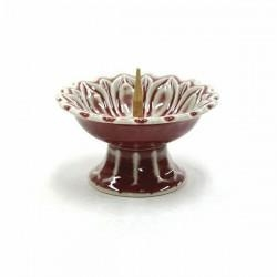 Quality Candlestick-Red for sale
