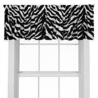 Wholesale Black Zebra Window Valance from china suppliers