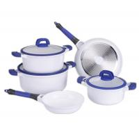 Aluminum Ceramic Cookware Sets With Smart Silicone Hand