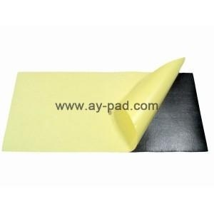 Non Slip Rubber Foam Mouse Pad Material Roll With Adhesive