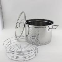 Wholesale stainless steel stock pot with steamers slice from china suppliers
