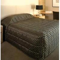 Wholesale Bedspreads REGENCY CHECK EBONY BEDSPREAD from china suppliers