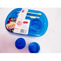 Wholesale Plastic airtight hard lunch boxes with cutlery-Hoersun from china suppliers