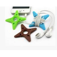 2014 hot sale silicone headphone wire holder