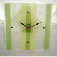 Simple Hot-melt Glass Wall Clock