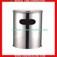 Wholesale Stainless steel products rubbish bin from china suppliers