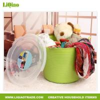 Bathroom products Janpanese style plastic dirty clothes storage basket
