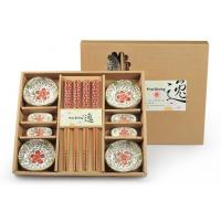 Wholesale Promotion Items ceramic bowls and chopsticks gift set from china suppliers