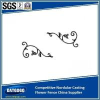 Wholesale Nodular Cast Iron Competitive Nordular Casting Flower Fence China Supplier from china suppliers