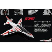 Wholesale Sonic 90mm EDF Jet 1200mm wingspan EPO RC plane model high speed airplane from china suppliers