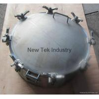 Wholesale Stainless Steel SS304 Industrial Round 600mm Manhole Manway from china suppliers
