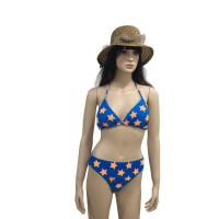 Wholesale Apparel Product Name:Lady plus size bikini set floral fabric from china suppliers