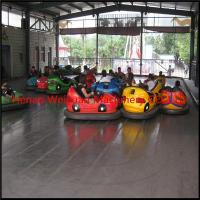 Wholesale amusement rides steel floor electric net bumper car from china suppliers