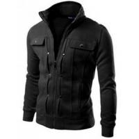 Wholesale Mens Highneck Zip Up Jacket from china suppliers