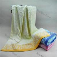 factory yarn dyed jacquard terry bath towel