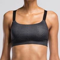 Wholesale #BRA003 Lady High Quality Black Snake Print/V2 FITNESS Sport Yoga Bra Top from china suppliers