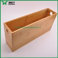MY2-6031 Bamboo Storage Organizer with Handle