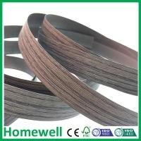 Wholesale PVC Edge Banding wood grain pvc edge banding for skirting board from china suppliers