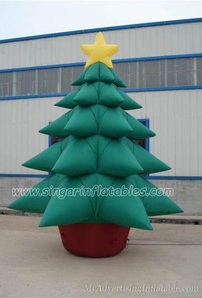 Christmas decorations outdoor inflatable christmas trees for Quality outdoor christmas decorations