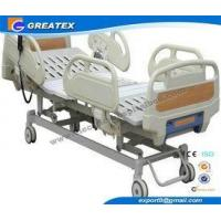 Automatic Three Function Folding hospital Semi Fowler Bed for ICU and Patient