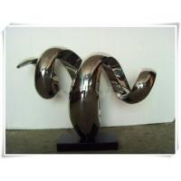 Wholesale Stainless Steel Abstract Sculpture Snake Shape from china suppliers
