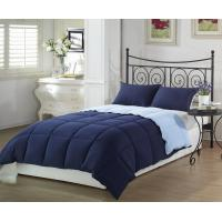 Wholesale Down alternative microfiber reversible quilting blanket from china suppliers
