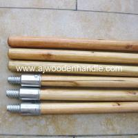 Varnished woodstick with metal thread