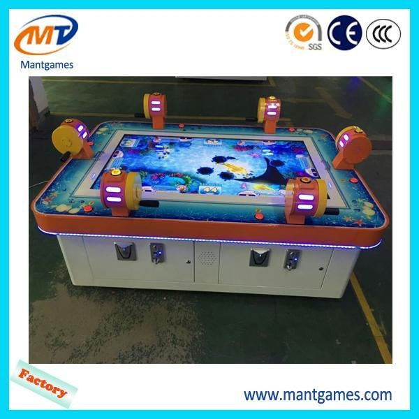 Lottery redemption arcade fish hunter game machine for Arcade fishing games