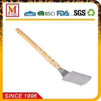 Wholesale BBQ Tools 20.3-Inch Wooden Handle BBQ long Spatula from china suppliers