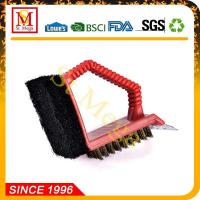 Wholesale BBQ Grill Brush Plastic Handle Grill Brush BBQ Cleaning brush from china suppliers