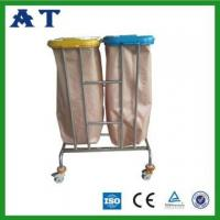 Wholesale Hospital waste bin with two Nylon bags from china suppliers