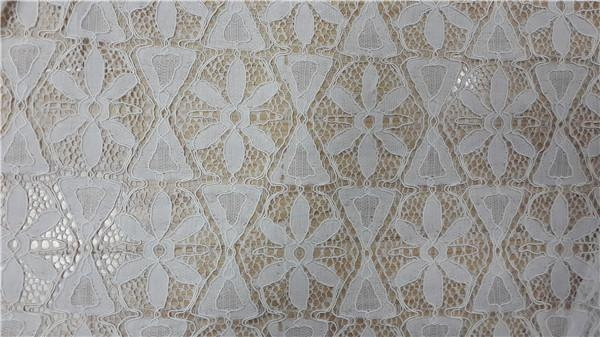Quality nylon lace fabric wholesale for dress for sale