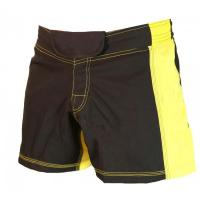 Wholesale Other Sports Wear MMA boxing shorts yellow and black accept custom design from china suppliers