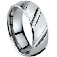 Wholesale Diamond / Cubic Zirconia COI Tungsten Carbide Ring - TG1004 from china suppliers