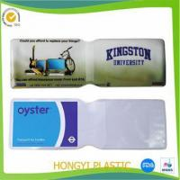 Wholesale Card holder PVC ATM Card Jackets from china suppliers
