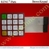 Wholesale Controller Parts RZNC-Brown Keypad from china suppliers