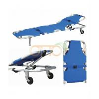 Wholesale Patient Trolley&Stretcher Medical Folding Stretcher from china suppliers