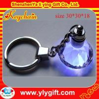 Wholesale Crystal Keychain With Led KC-00520-1 from china suppliers