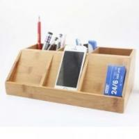Wholesale Bamboo Wood Kitchen Bamboo stationery pen holder from china suppliers