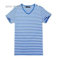 Wholesale QTS-001 Men V Neck T-shirt from china suppliers