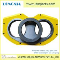 Wholesale Putzmeister concrete pump DN180 wear plate and cutting ring from china suppliers