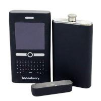 Wholesale metal mobile phone wine flask from china suppliers