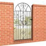 "Wholesale Abbey Trading 8031003 76"" X 33"" Windsor Iron Gates from china suppliers"