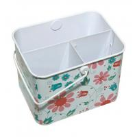 Buy cheap Metal tin pen holder stationery storage box from wholesalers