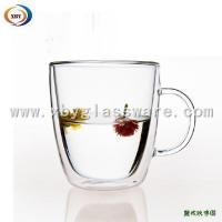 Wholesale Glass Clear Double Wall Glass Mug/Cup from china suppliers
