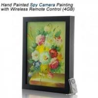 Wholesale Free shipping Hand Painted Spy Camera Wireless Remote Control from china suppliers