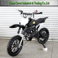 Wholesale 2016 New Gasoline Powered 50CC Motorbike 49CC Dirt Bike with Adjustable Shock from china suppliers