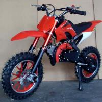 Wholesale Hot Sell 10 inch Big Wheel Mini Pit Bike 49CC Dirt Bike for Children from china suppliers